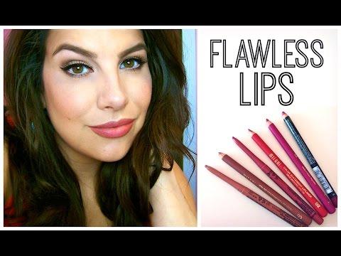 Tutorial: Flawless Lips + Top Lip Liners