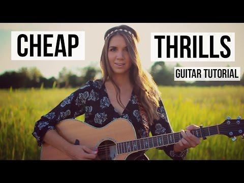Cheap Thrills - Sia // Guitar Tutorial