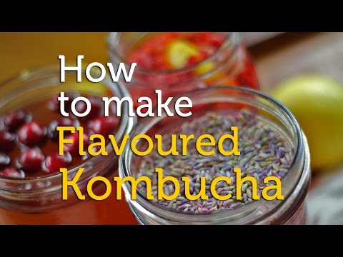 How to Make Flavoured Kombucha