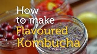 Gambar cover How to Make Flavoured Kombucha