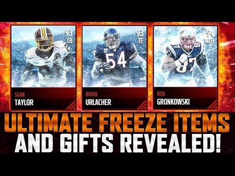 Madden Mobile 17 Ultimate Freeze Gifts Revealed!!