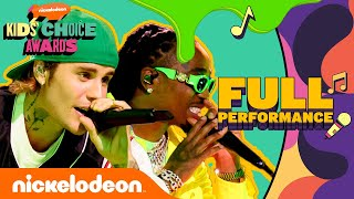 "Justin Bieber & Quavo Perform ""Intentions"" (Live) 