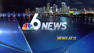 Wtvj nbc 6 south florida news 11pm open 2016