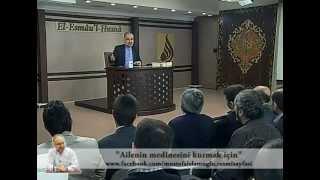 SoruCevap - Ailenin medinesini kurmak için ne yapılmalı ? / Mustafa İslamoğlu