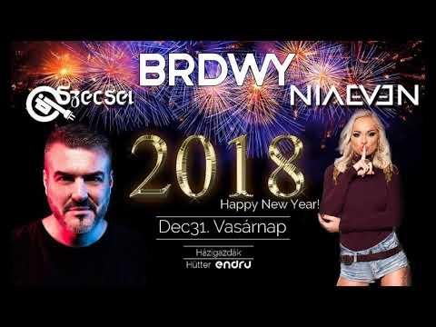 Dj Szecsei - 2017.12.31. - Happy New Year 2018 - BRDWY, Eger - Sunday