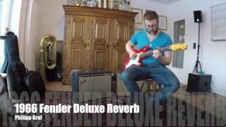 Fender Deluxe Reverb (1966 orig vs Reissue)