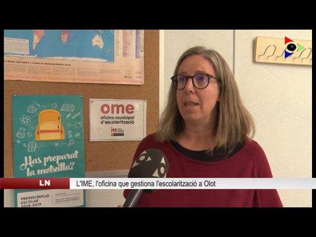 Olot, ciutat educadora: OFICINA MUNICIPAL D'ESCOLARITZACIÓ (OME)