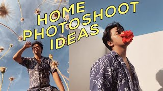 10 Ways to Take Creative Self-Timer Photos at Home!