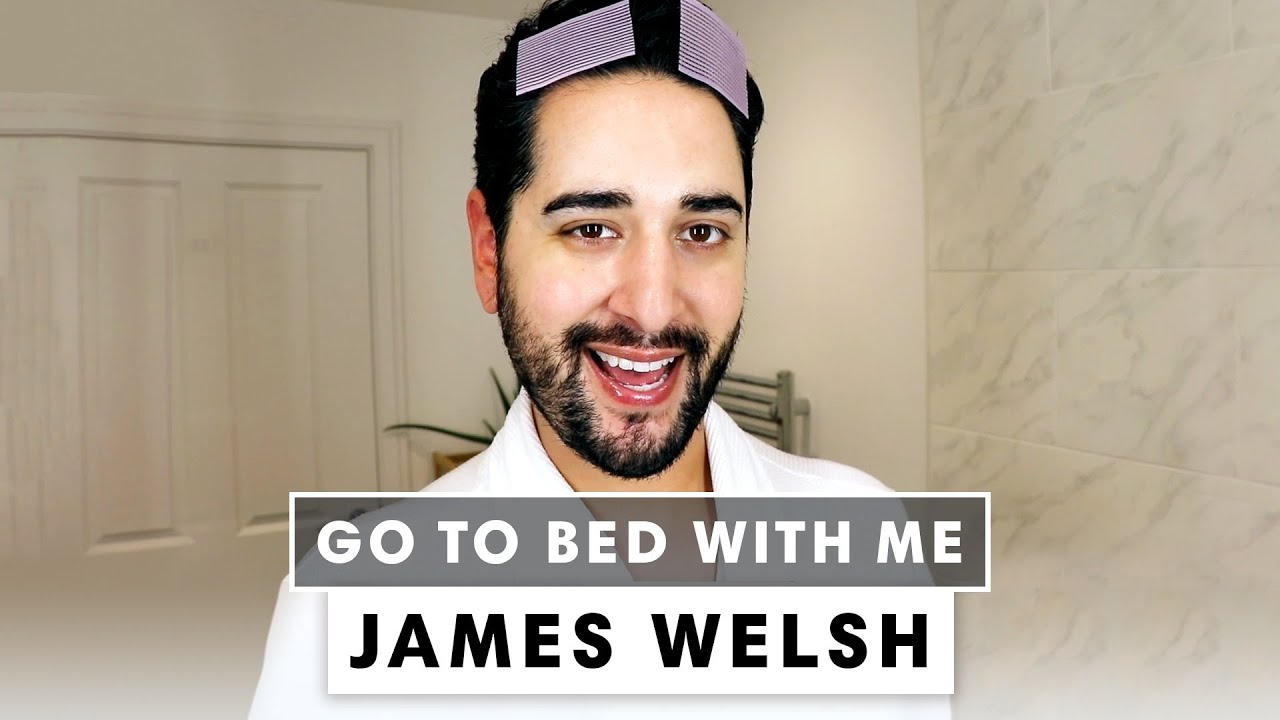 James Welsh's Ultra-Hydrating Nighttime Skincare Routine | Go To Bed With Me | Harper's BAZAAR