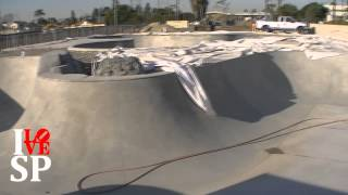 Vans Skatepark Construction Update 1-14-14 - Huntington Beach, CA - Open late February, early March