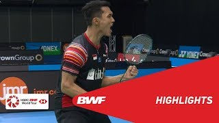 CROWN GROUP Australian Open 2019 Semifinals MS Highlights BWF 2019