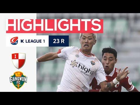 Busan Gangwon Goals And Highlights