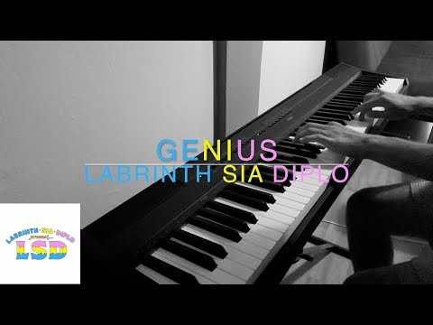LSD - Genius ft. Sia, Diplo, Labrinth | Piano Cover