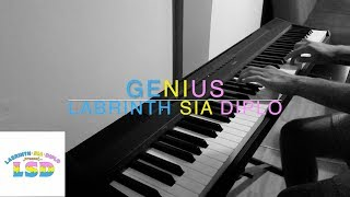 Download Lagu LSD - Genius (ft. Sia, Diplo, Labrinth) | Piano Cover Mp3