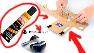 VR Своими РУКАМИ ДОМА БЕСПЛАТНО PS4/PC/XBOX Как сделать очки VR виртуальной реальности