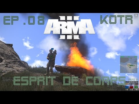 [CZ/SK] Arma3 King of The Hill #08: Esprit de Corps