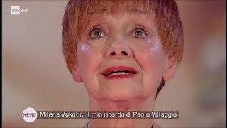 Milena Vukotic: il mio ricordo di Paolo Villaggio - Nemo - Nessuno escluso 19/10/2017