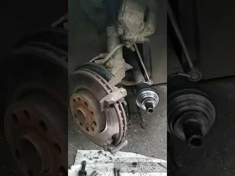 Замена переднего подшипника ступицы на шкоде Октавия А5