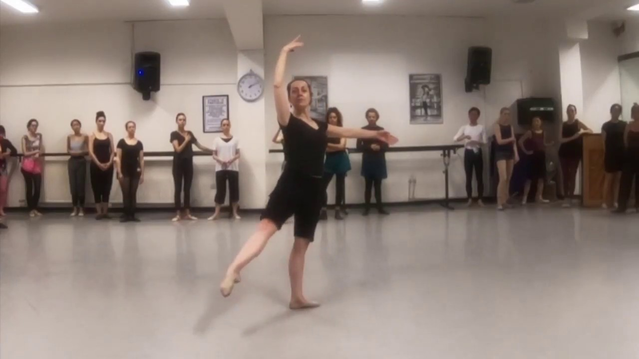 336cfddfdb198 battements tendus & dégagés in épaulement: ballet class tutorial (beginner)