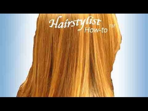 How To Do Golden Blonde Highlights On Natural Red Hair