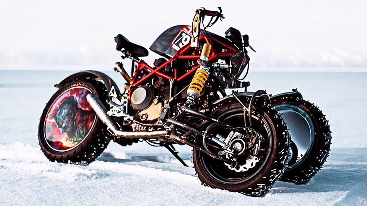 15 Most Unusual Motorcycles Ever Made