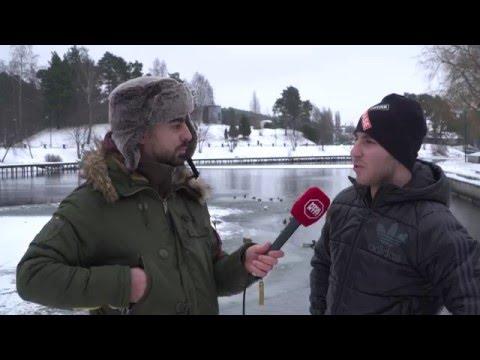 Exklusiv intervju med Eli Elias - Hjälten som räddade ett barns från att drunkna i isvatten