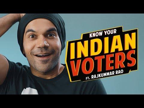 Know Your Indian Voters Ft. Rajkummar Rao | Being Indian