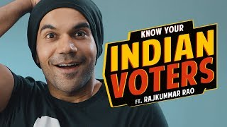 Know Your Indian Voters Ft. Rajkummar Rao | Being Indian