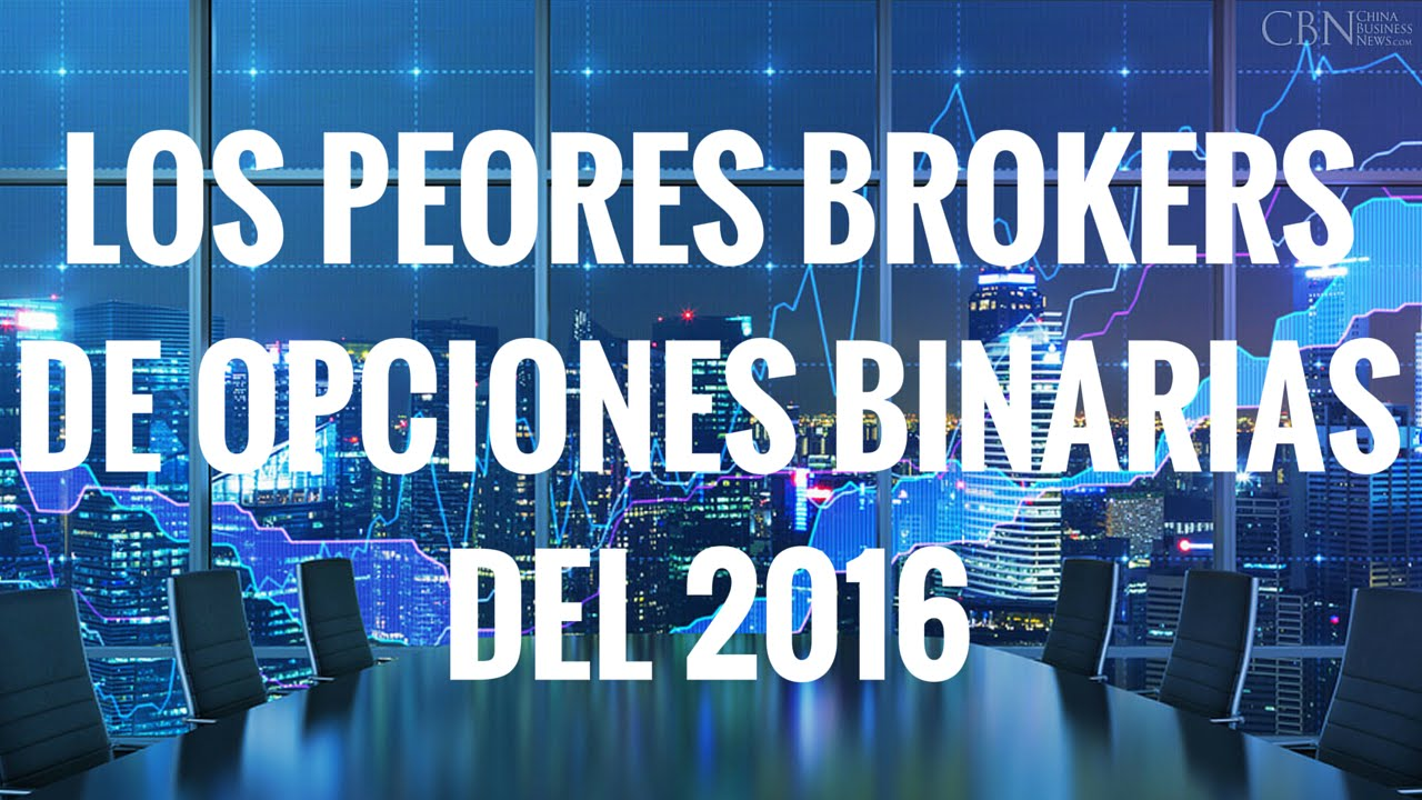 Brokers opciones binarias registrados