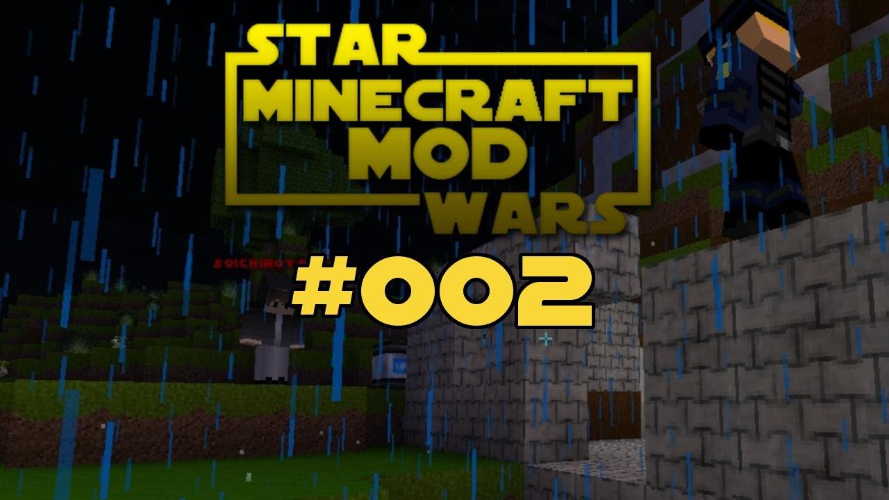Minecraft Star Wars Mod Multiplayer Ep Chaos Im Regen - Minecraft multiplayer spielen kostenlos