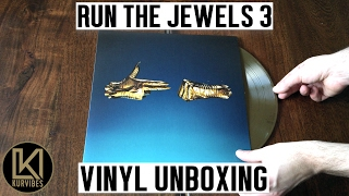 Run The Jewels - Run The Jewels 3 Vinyl Unboxing | KurVibes