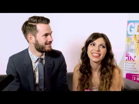 Anna Angelina Wolfers und ihr Freund im Interview
