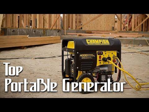 Best Portable Generators 2019