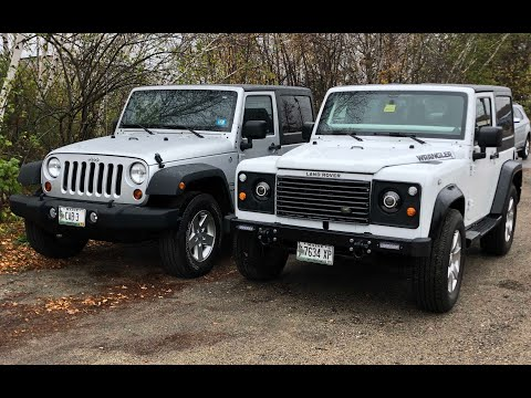 How to Replace the Jeep Wrangler Front End with a Land Rover Defender