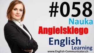 #58 Kurs języka angielskiego Słownictwo English Jarocin Mińsk Mazowiecki Sanok Zabrze