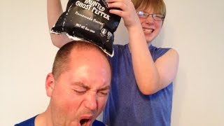 Kid vs Man ... Spicy Ghost Pepper Chip Challenge! : Episode 5, Crude Brothers