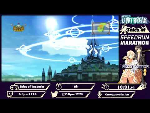 Tales of Marathon 2016: Vesperia (PS3) in 5:43:43 by Eclipse1224