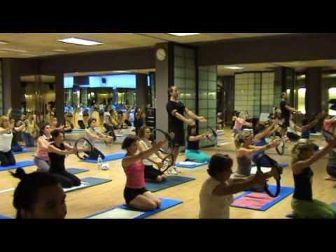 Clase de Pilates con aro o flex ring. Parte VII