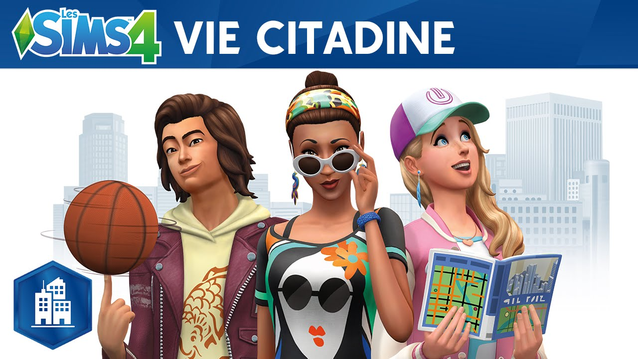 les sims 4 vie citadine bande annonce officielle youtube. Black Bedroom Furniture Sets. Home Design Ideas