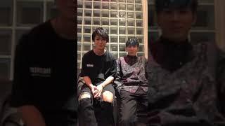 2018/12/29 THE RANPAGE インスタライブ 川村壱馬 長谷川慎