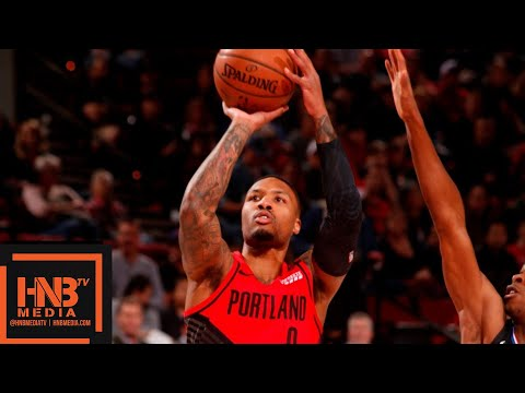 LA Clippers vs Portland Trail Blazers Full Game Highlights | 11.08.2018, NBA Season