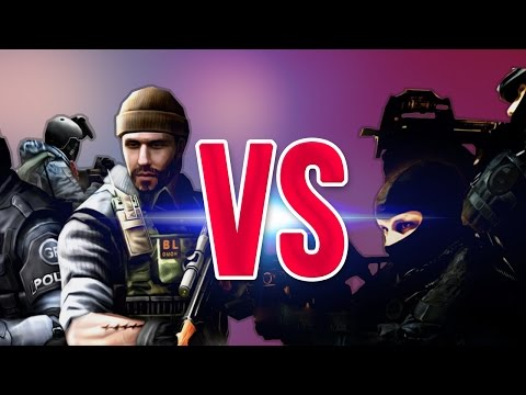 СУПЕР РЭП БИТВА:CS VS CF (Counter Strike ПРОТИВ CrossFire)
