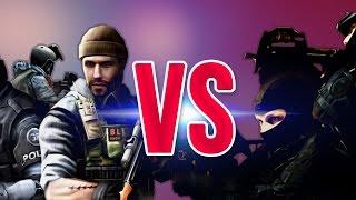 СУПЕР РЭП БИТВА CS VS CF Counter Strike ПРОТИВ CrossFire