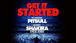 Pitbull feat. Shakira - Get It Started (DROPWIZZ CLUB REMIX)