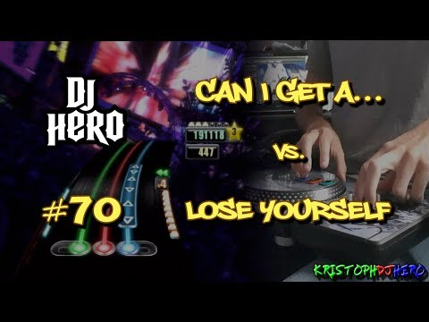 DJ Hero - Can I Get A... vs. Lose Yourself 100% FC (Expert)