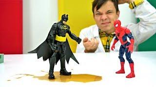 Игры с доктор Ой - Бэтмен подхватил Джокер-вирус