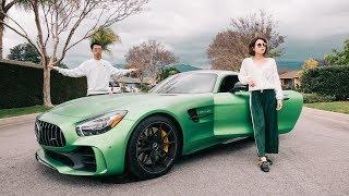 女朋友把我的AMG GTR 开走了!- I Let My Girlfriend Drive My AMG GTR!