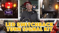 New LED Switchback Turn Signal Set for Vespa GTS