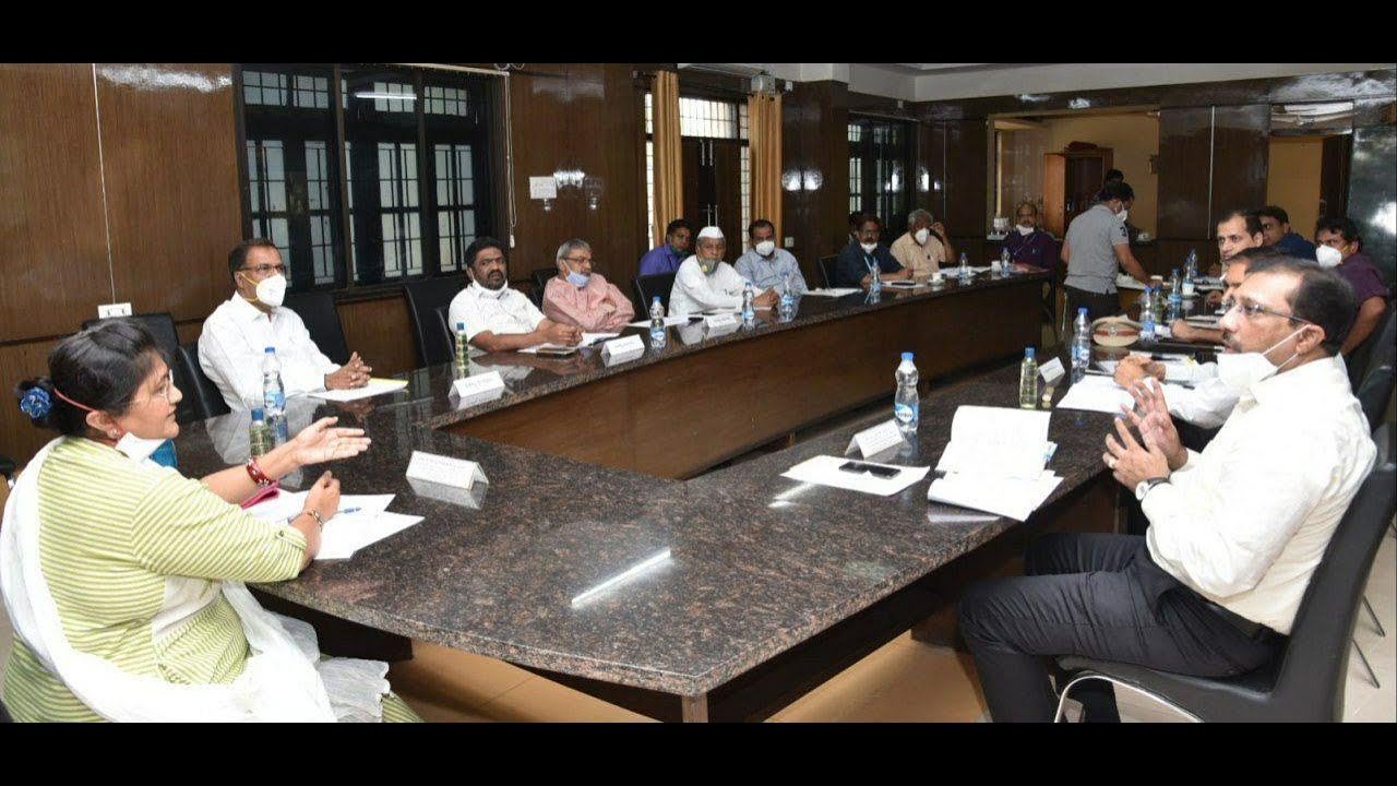 DC & In charge minister  Press Meet …!Covid 19 Update…! 22-04-2020