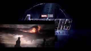 Avengers Endgame : Captain Marvel destroy Thanos ship !